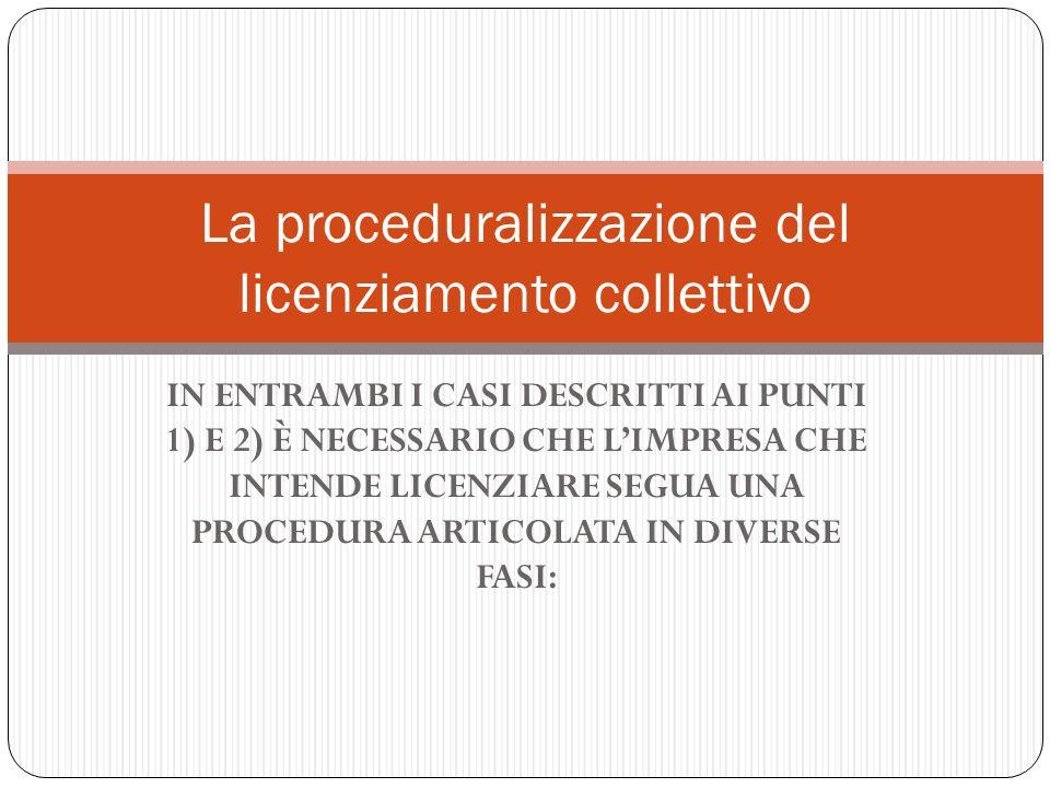 La proceduralizzazione del licenziamento collettivo