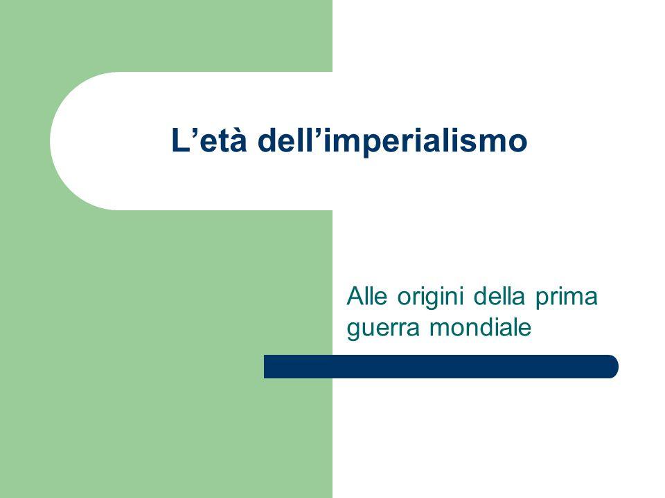 L'età dell'imperialismo