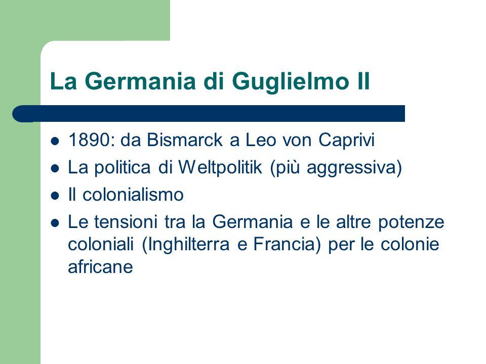 La Germania di Guglielmo II