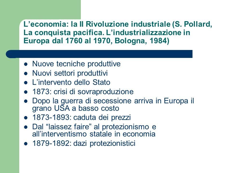 L'economia: la II Rivoluzione industriale (S