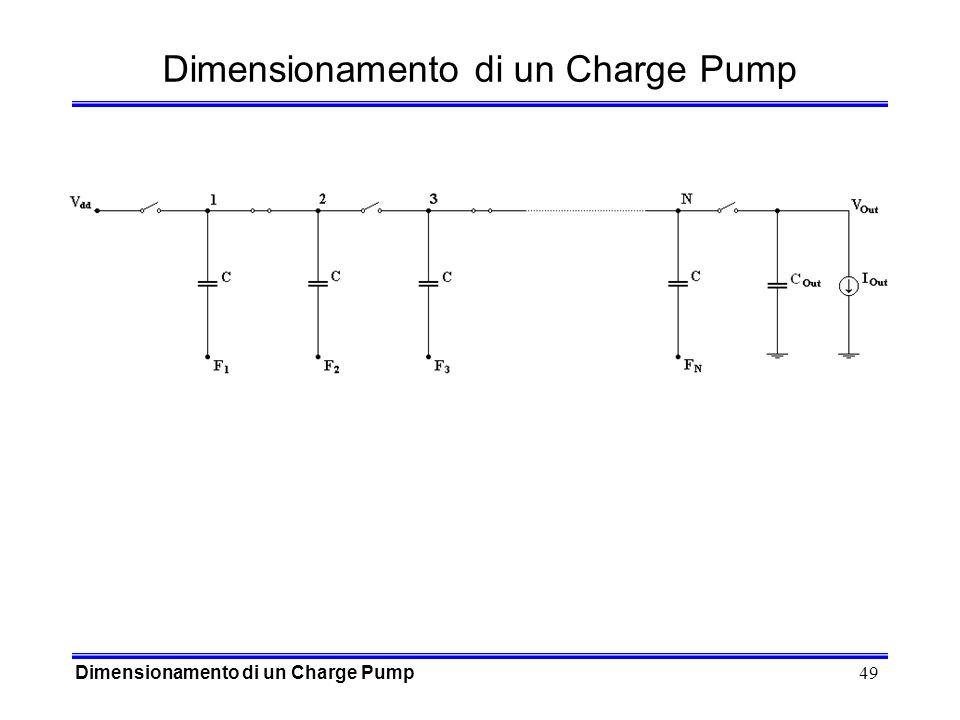 Dimensionamento di un Charge Pump