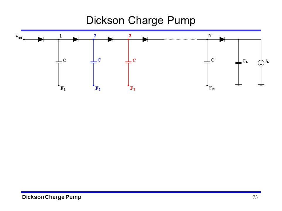 Dickson Charge Pump Dickson Charge Pump