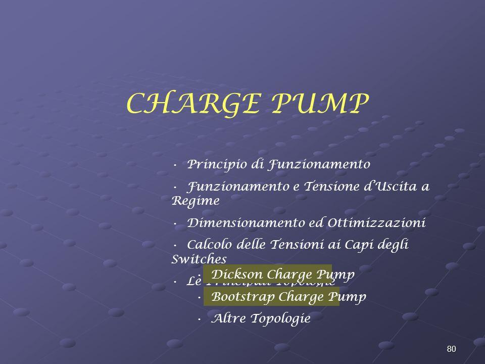 CHARGE PUMP Principio di Funzionamento