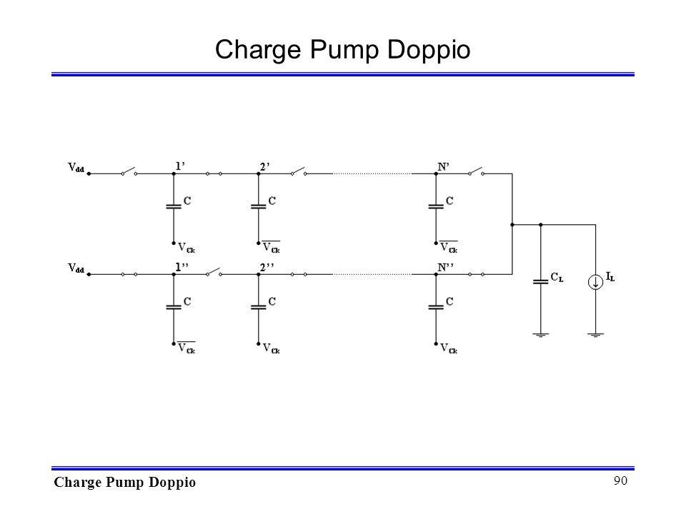 Charge Pump Doppio Charge Pump Doppio