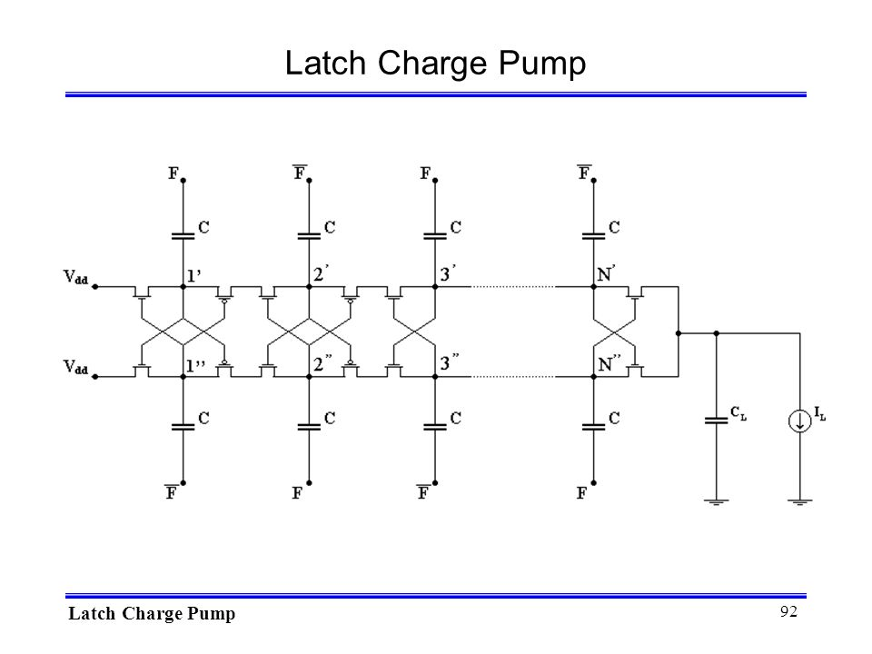 Latch Charge Pump Latch Charge Pump