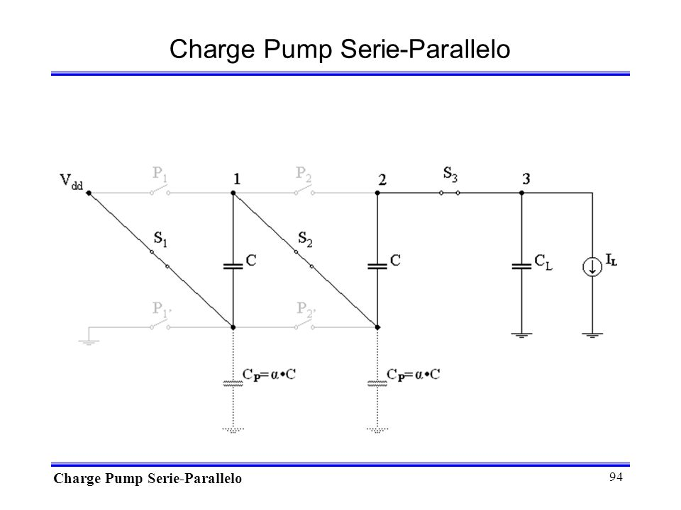 Charge Pump Serie-Parallelo