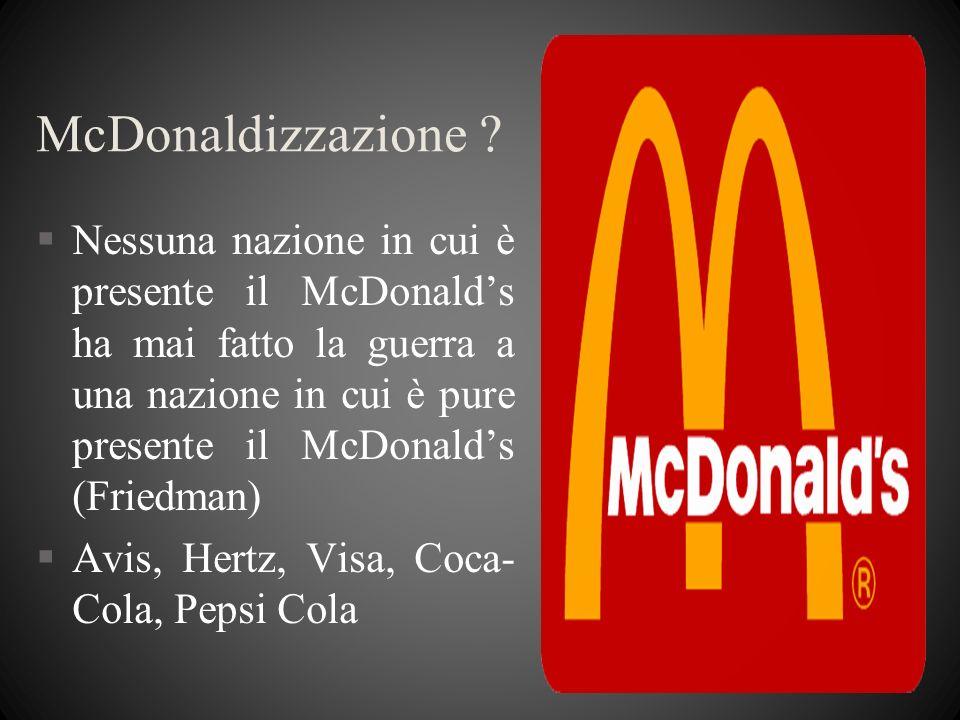 McDonaldizzazione