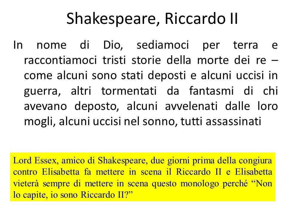 Shakespeare, Riccardo II