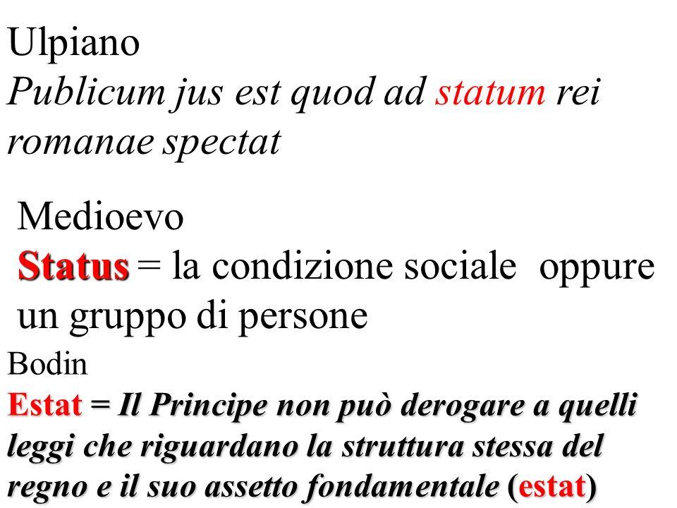 Publicum jus est quod ad statum rei romanae spectat