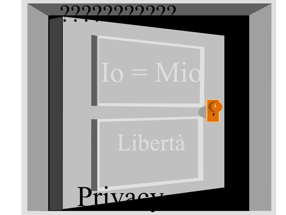 S o g e t Io = Mio Libertà Privacy