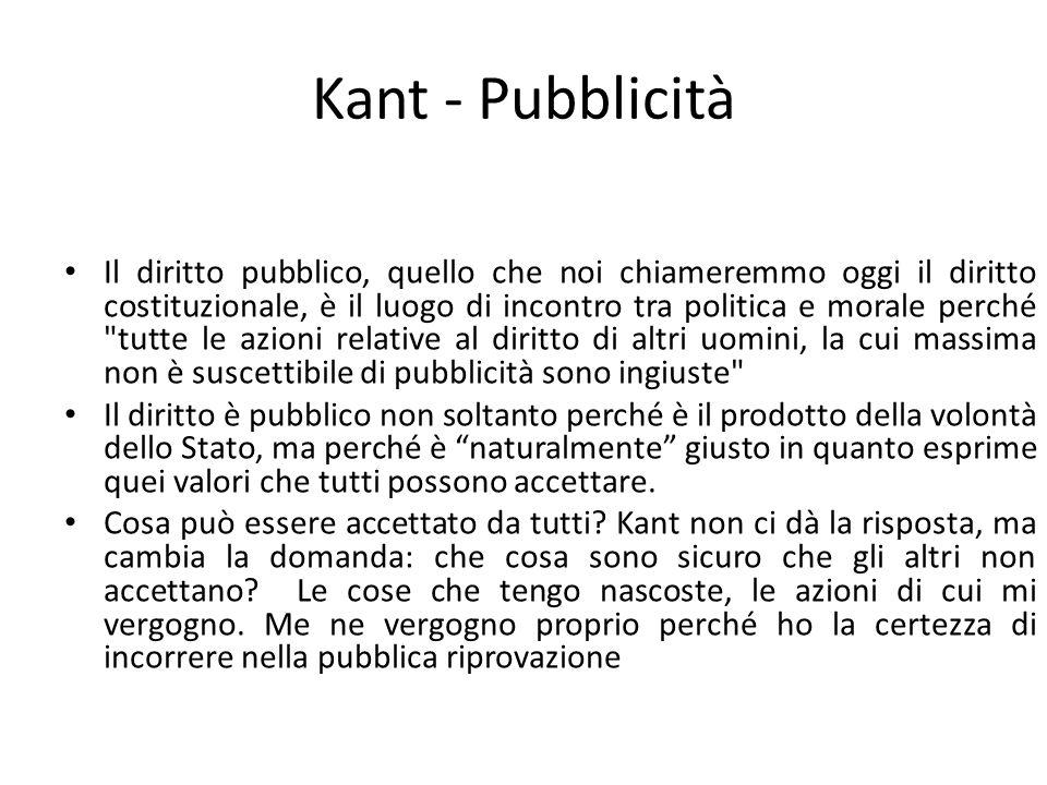 Kant - Pubblicità
