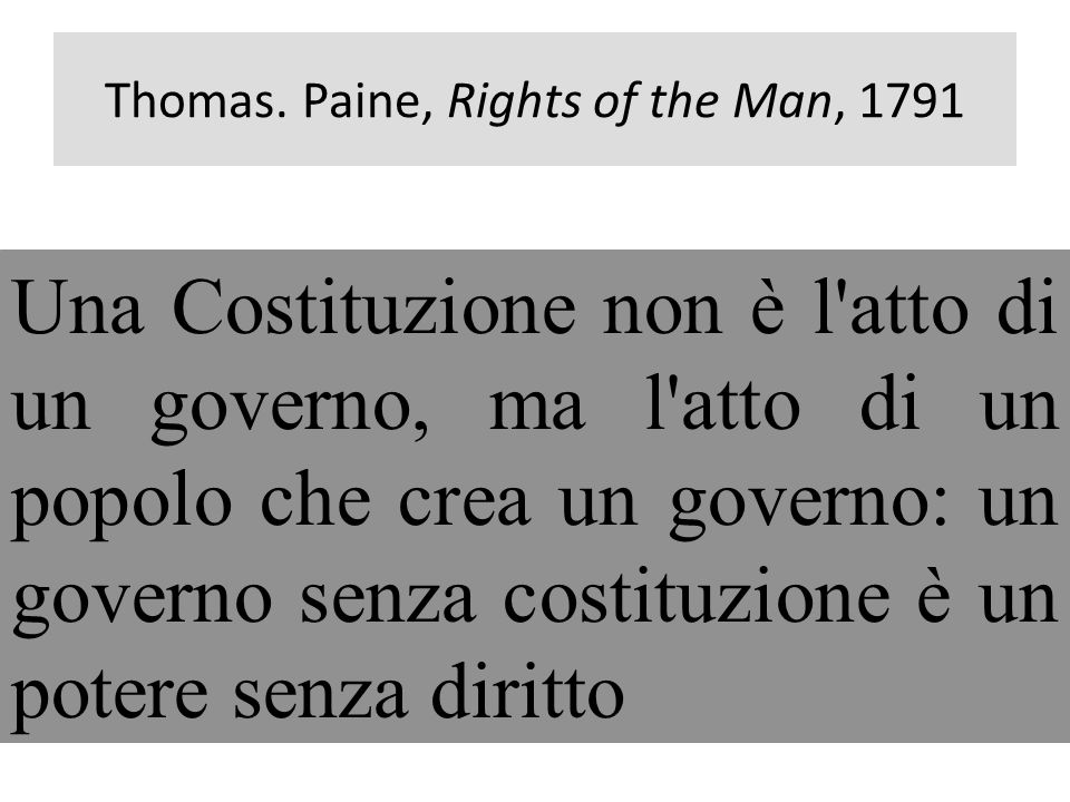 Thomas. Paine, Rights of the Man, 1791