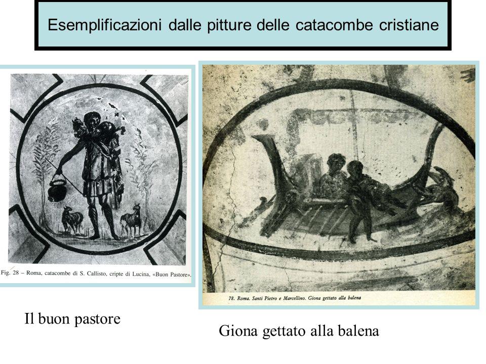 Esemplificazioni dalle pitture delle catacombe cristiane