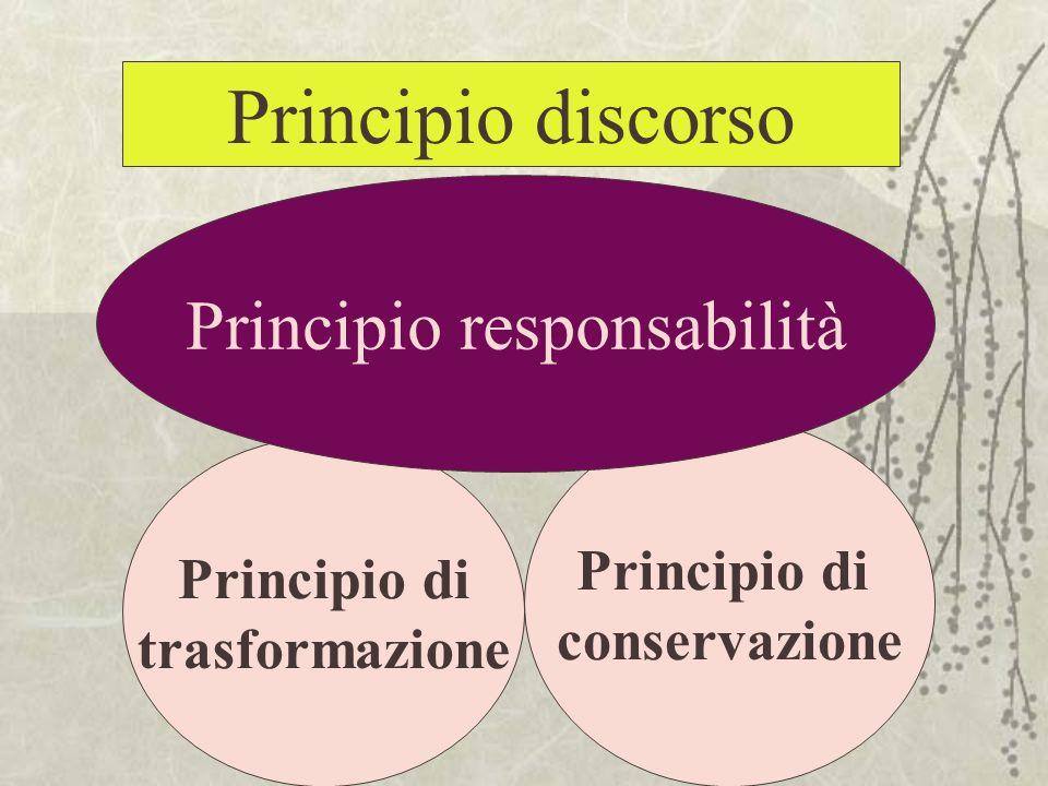 Principio responsabilità