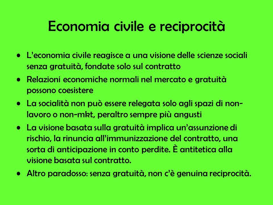 Economia civile e reciprocità