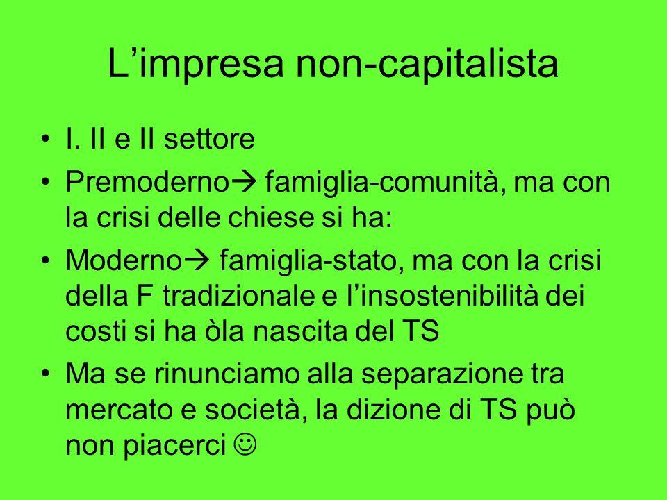 L'impresa non-capitalista