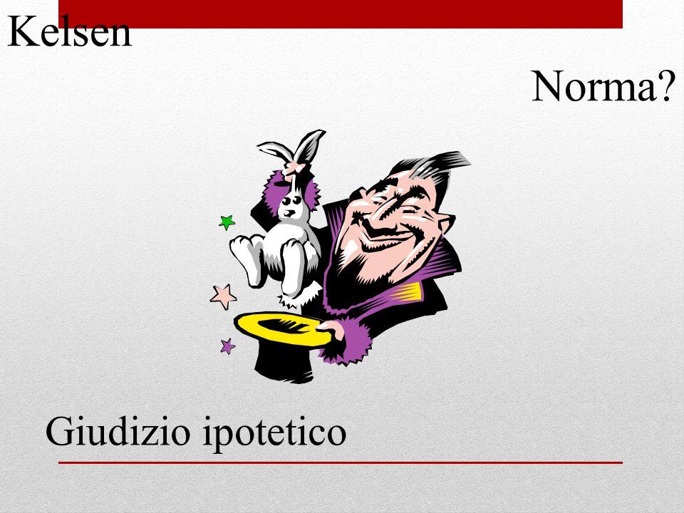 Kelsen Norma Giudizio ipotetico