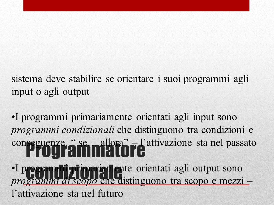 Programmatore condizionale