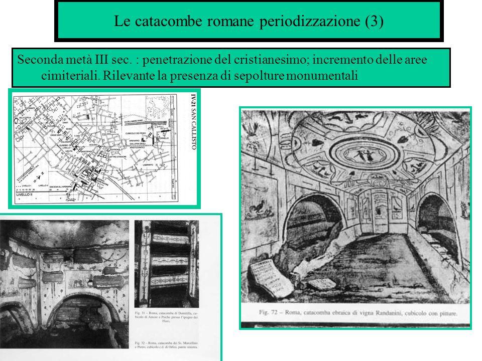 Le catacombe romane periodizzazione (3)