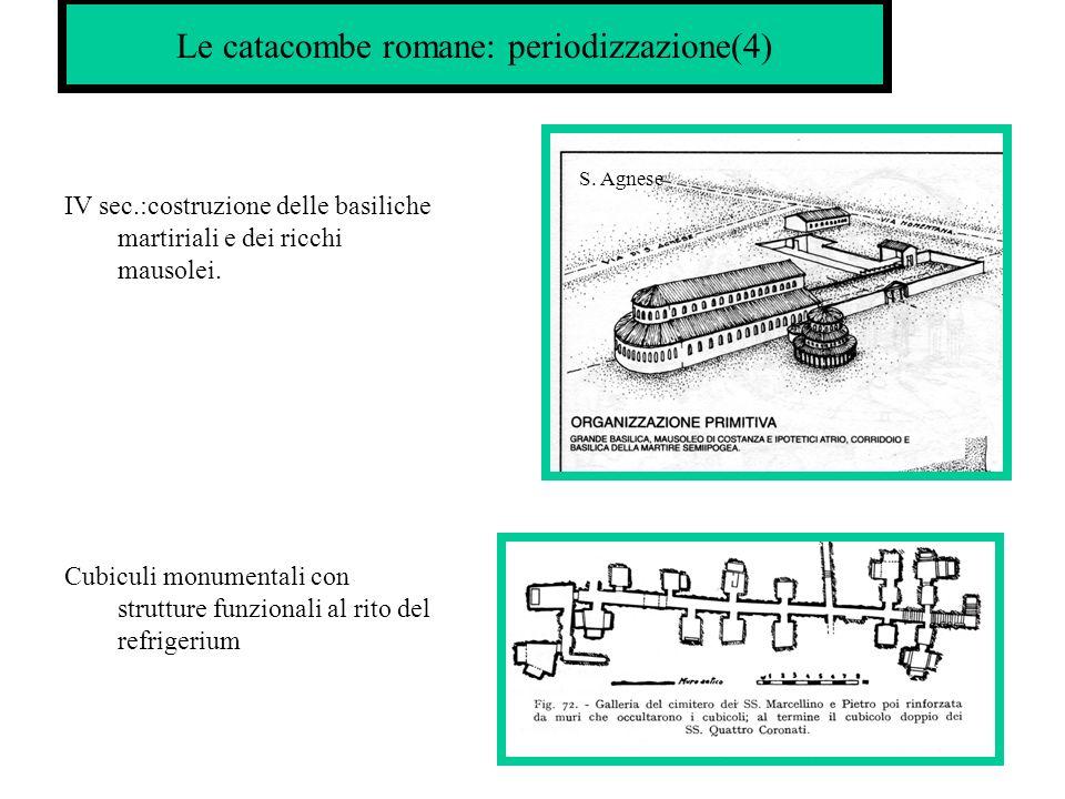 Le catacombe romane: periodizzazione(4)