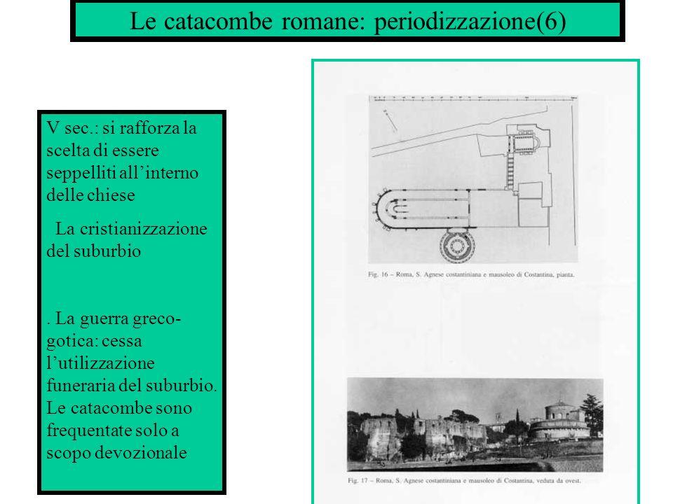 Le catacombe romane: periodizzazione(6)