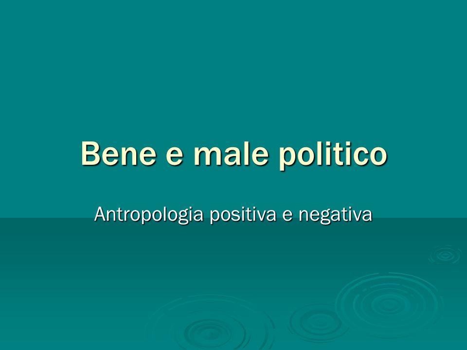 Antropologia positiva e negativa
