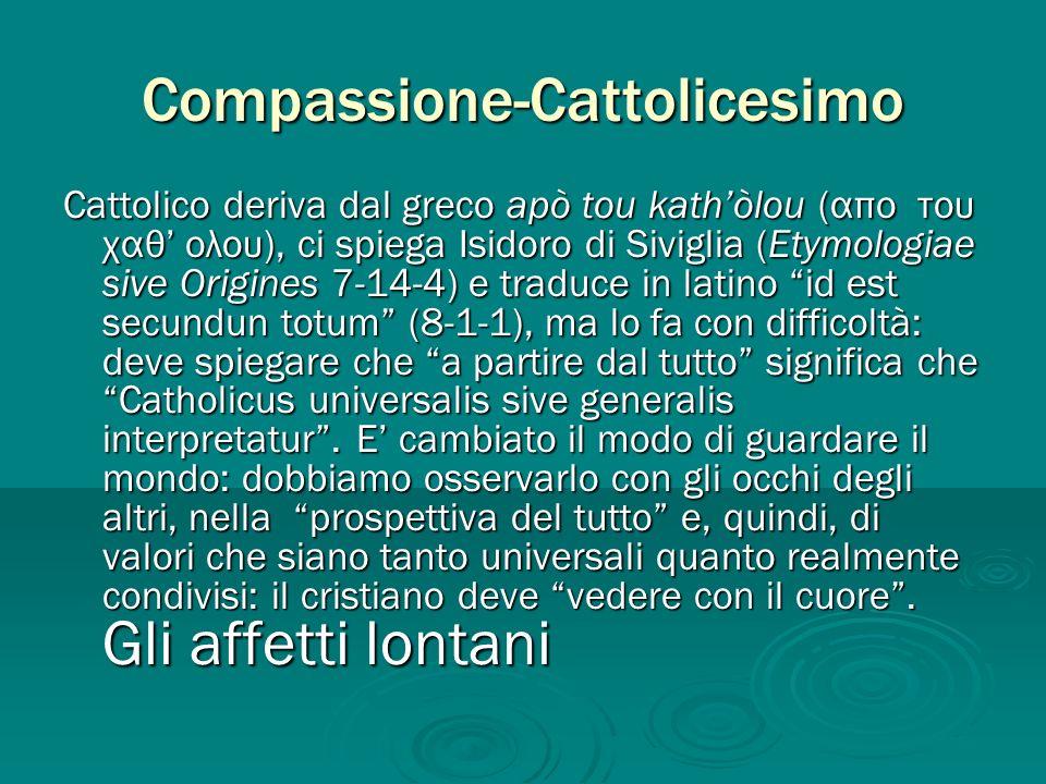 Compassione-Cattolicesimo