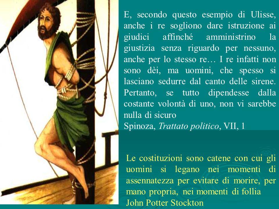 Spinoza, Trattato politico, VII, 1