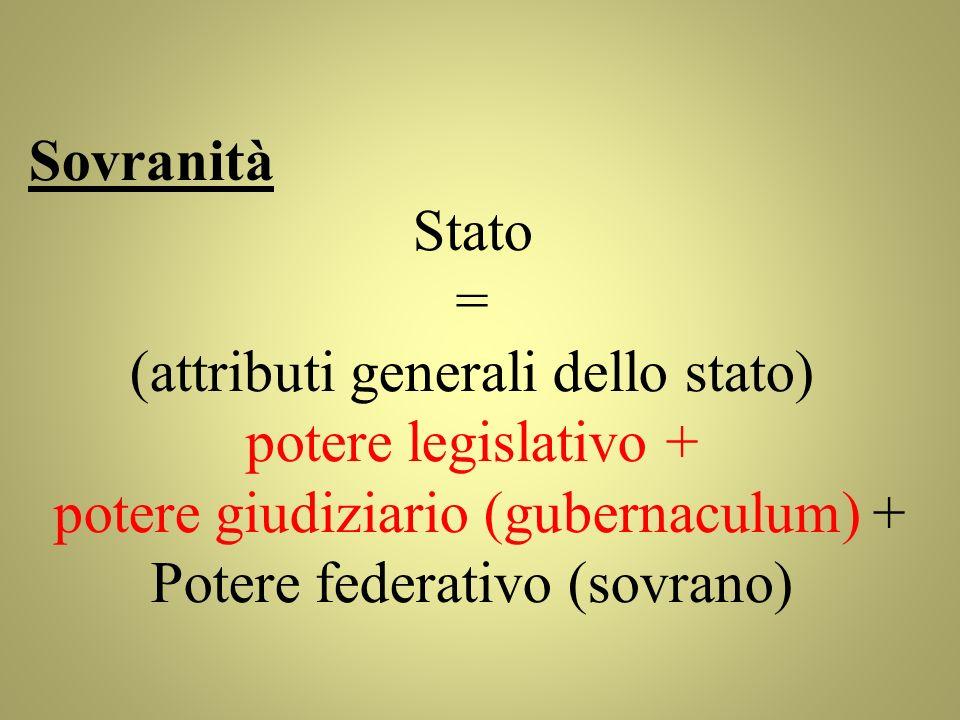 (attributi generali dello stato) potere legislativo +