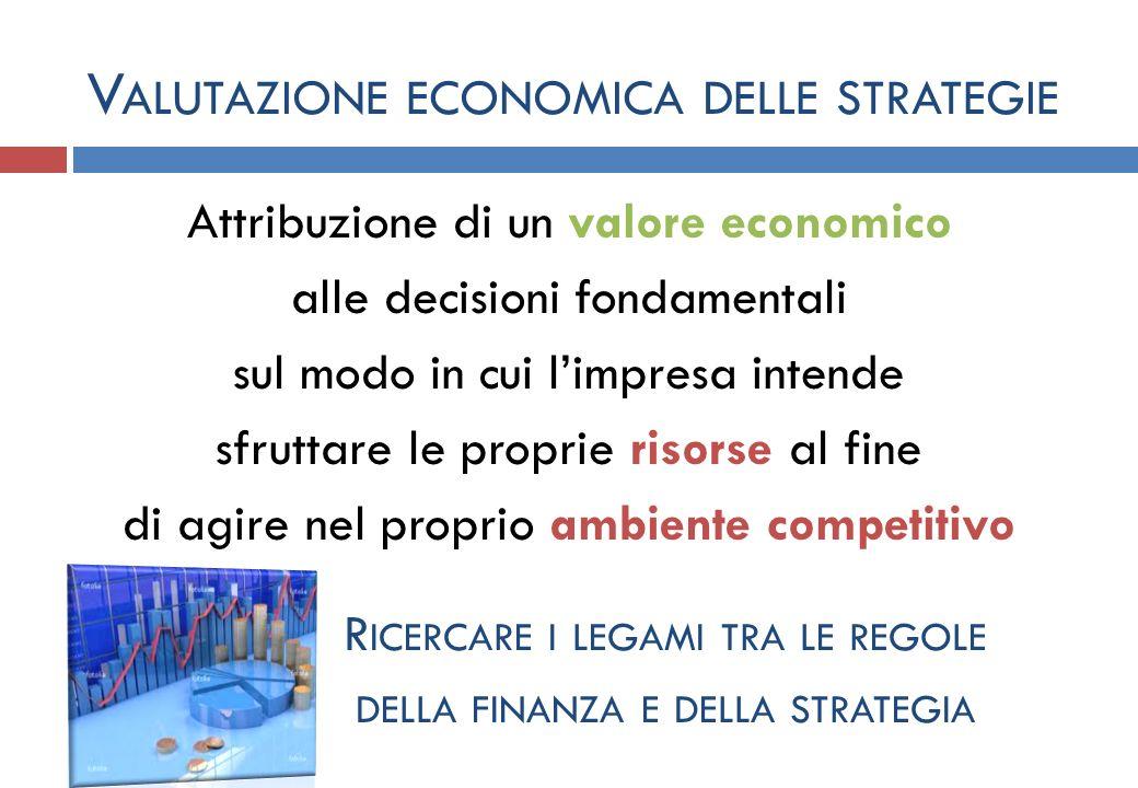 Valutazione economica delle strategie