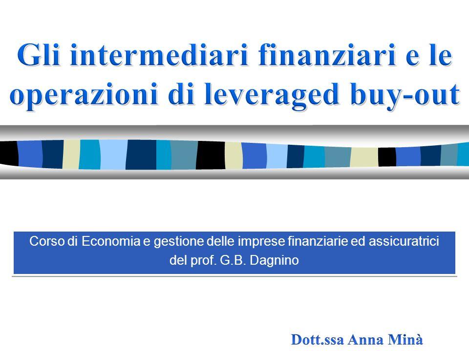 Corso di Economia e gestione delle imprese finanziarie ed assicuratrici