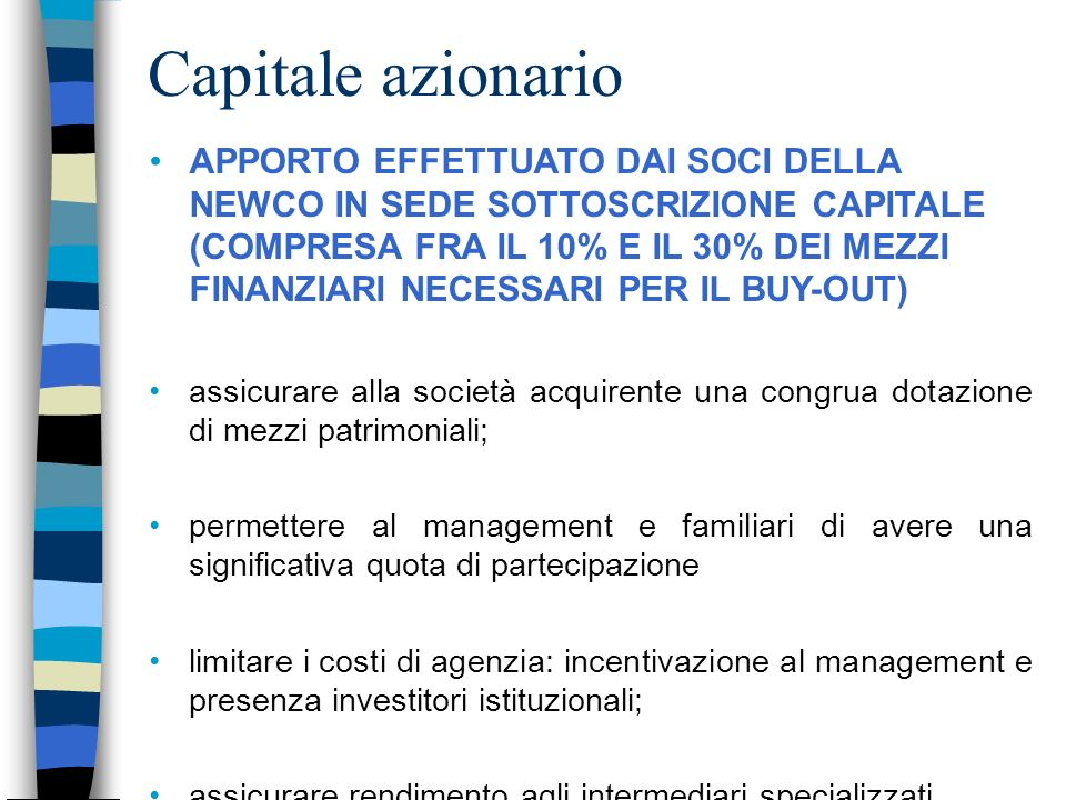 Capitale azionario