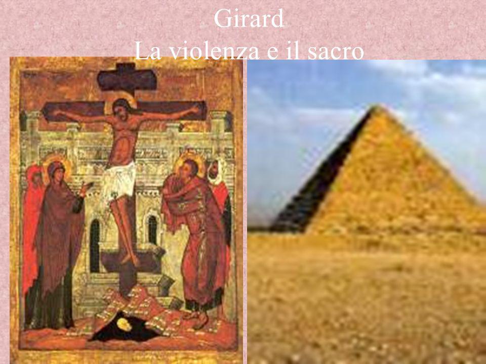 Girard La violenza e il sacro
