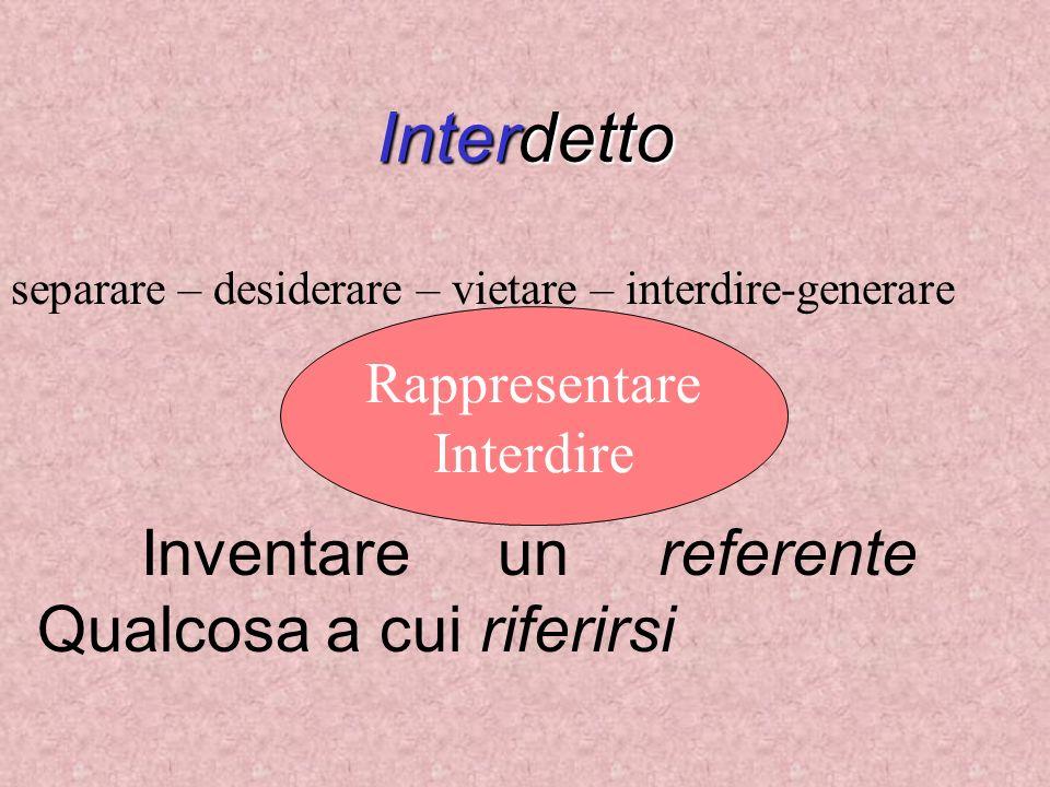 Inventare un referente