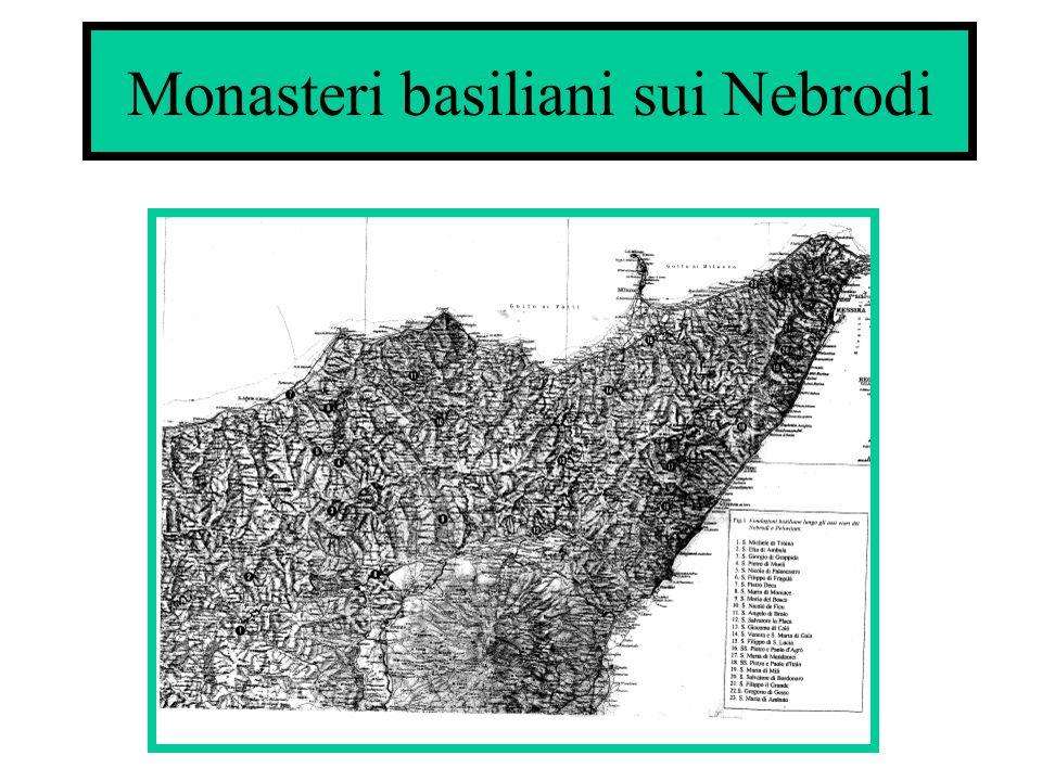 Monasteri basiliani sui Nebrodi
