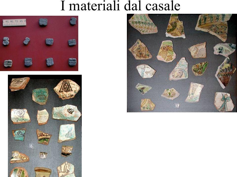 I materiali dal casale