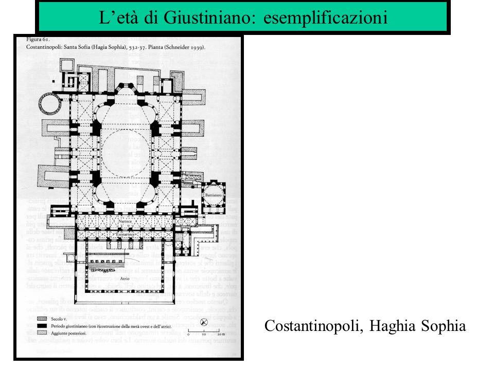 L'età di Giustiniano: esemplificazioni