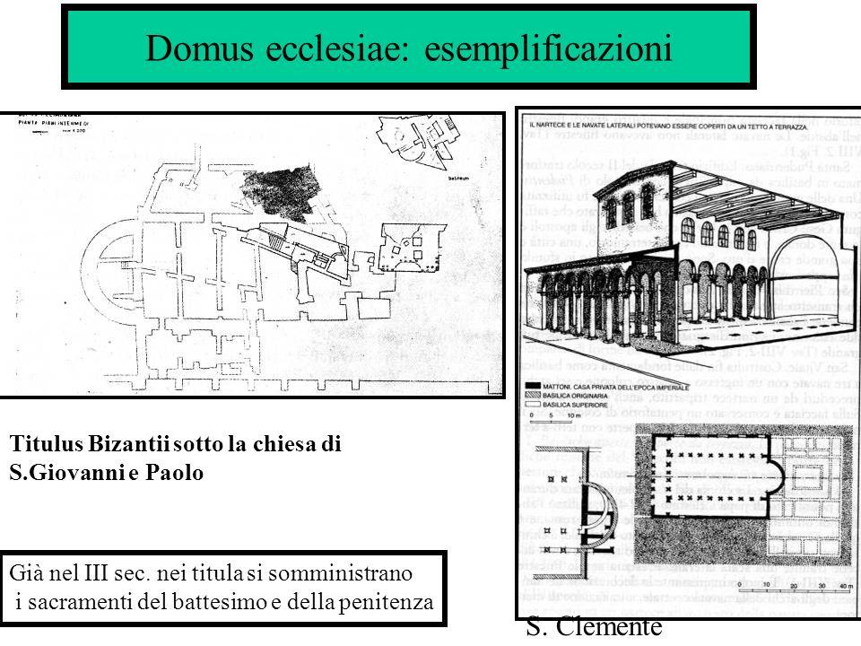 Domus ecclesiae: esemplificazioni