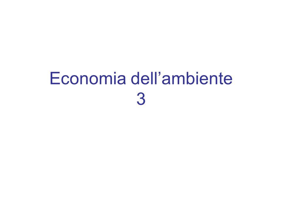 Economia dell'ambiente 3