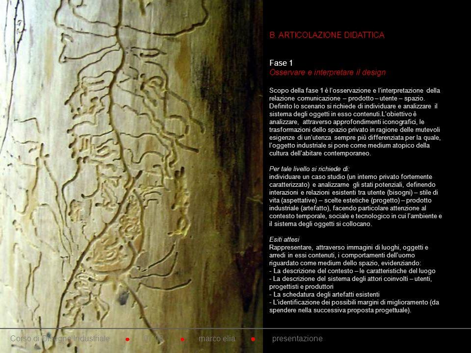 10. B. ARTICOLAZIONE DIDATTICA Fase 1