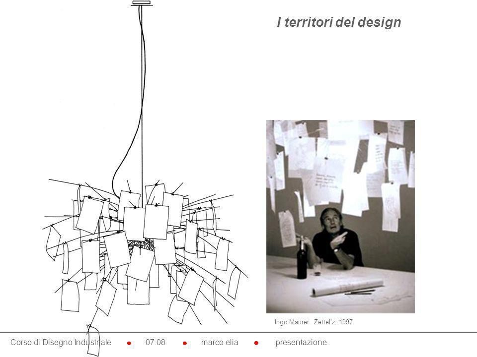 I territori del design Ingo Maurer. Zettel'z, 1997.