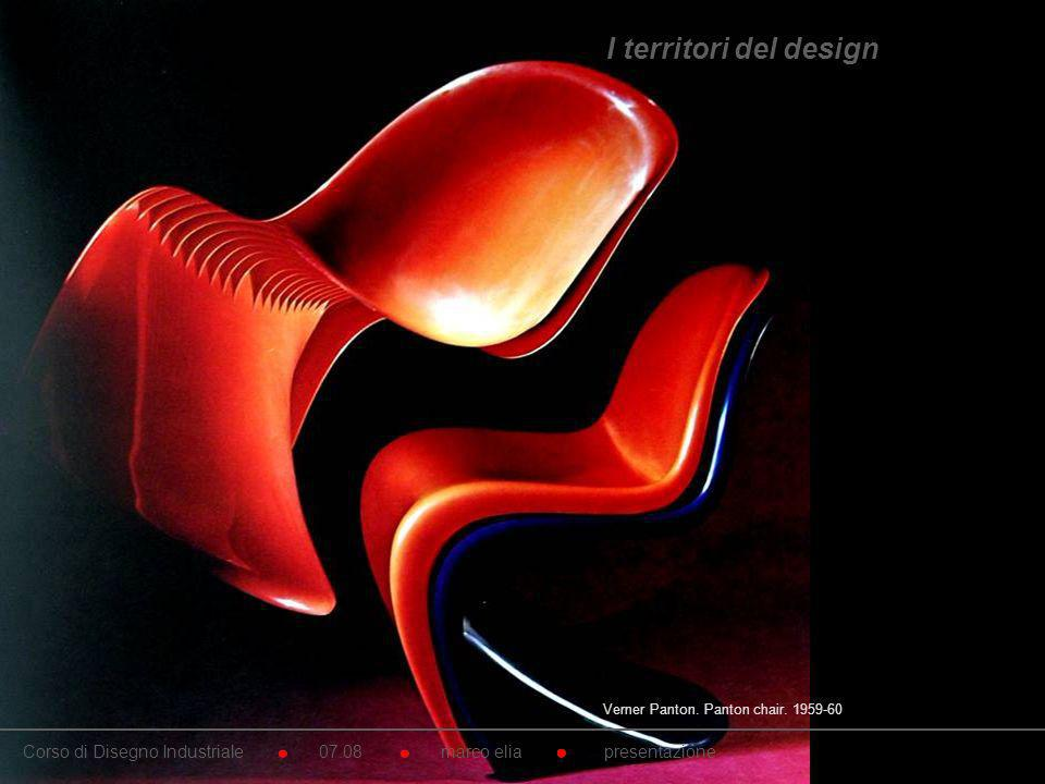 I territori del design Verner Panton. Panton chair. 1959-60.
