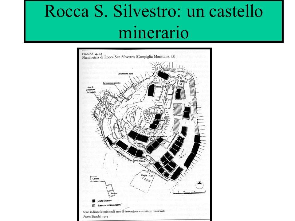Rocca S. Silvestro: un castello minerario
