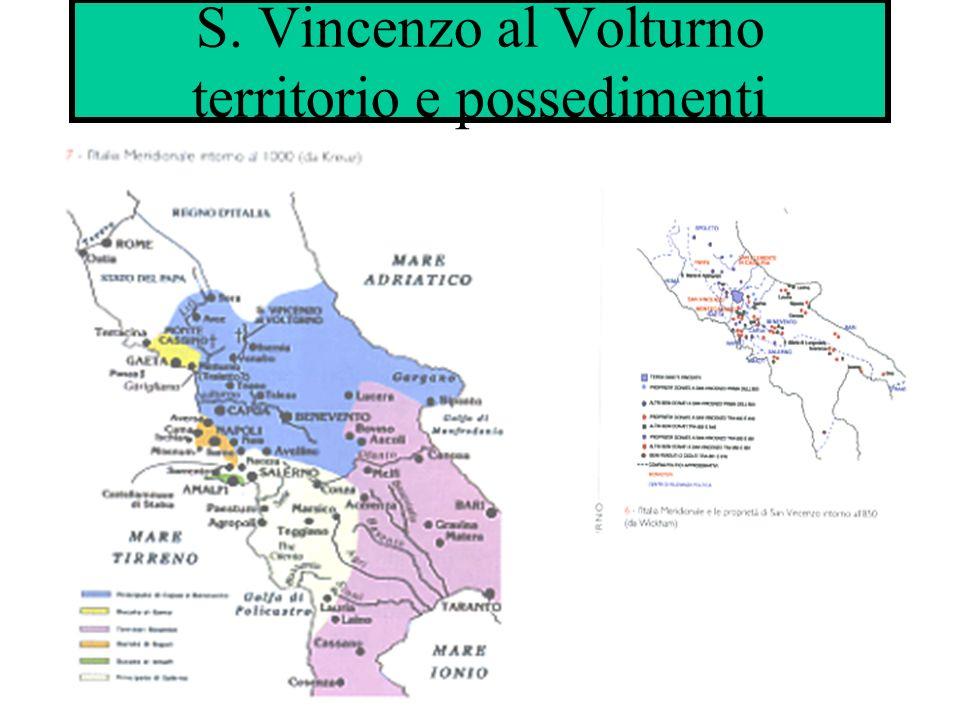 S. Vincenzo al Volturno territorio e possedimenti