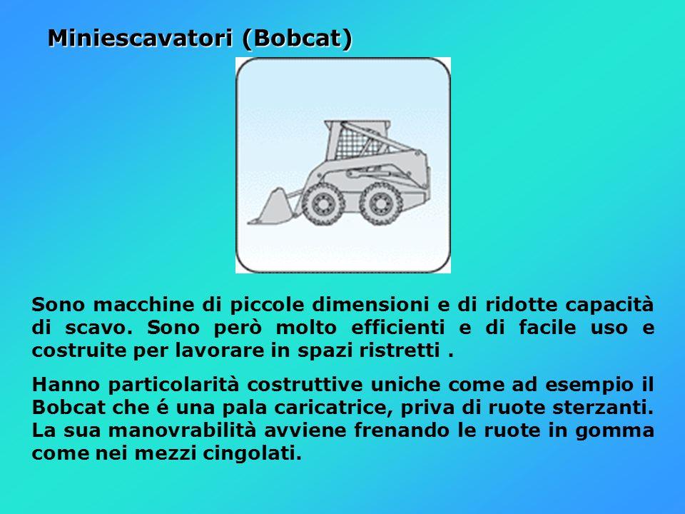 Miniescavatori (Bobcat)