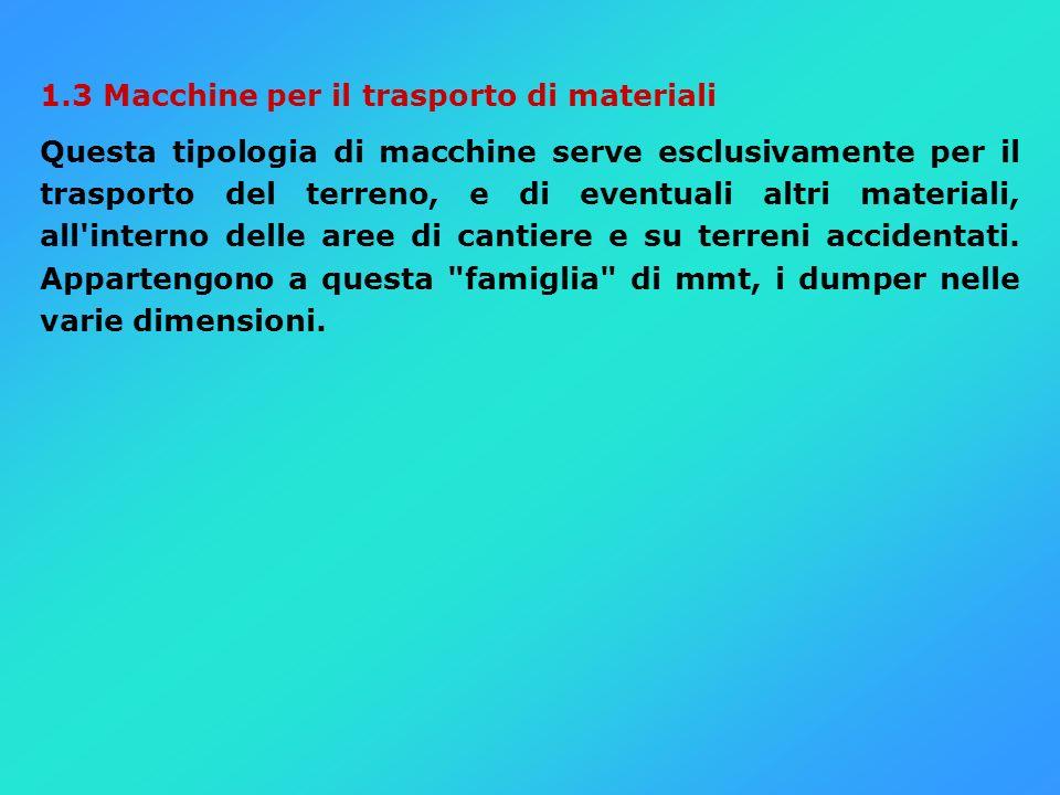 1.3 Macchine per il trasporto di materiali