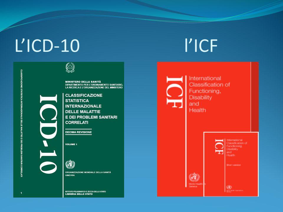 L'ICD-10 l'ICF