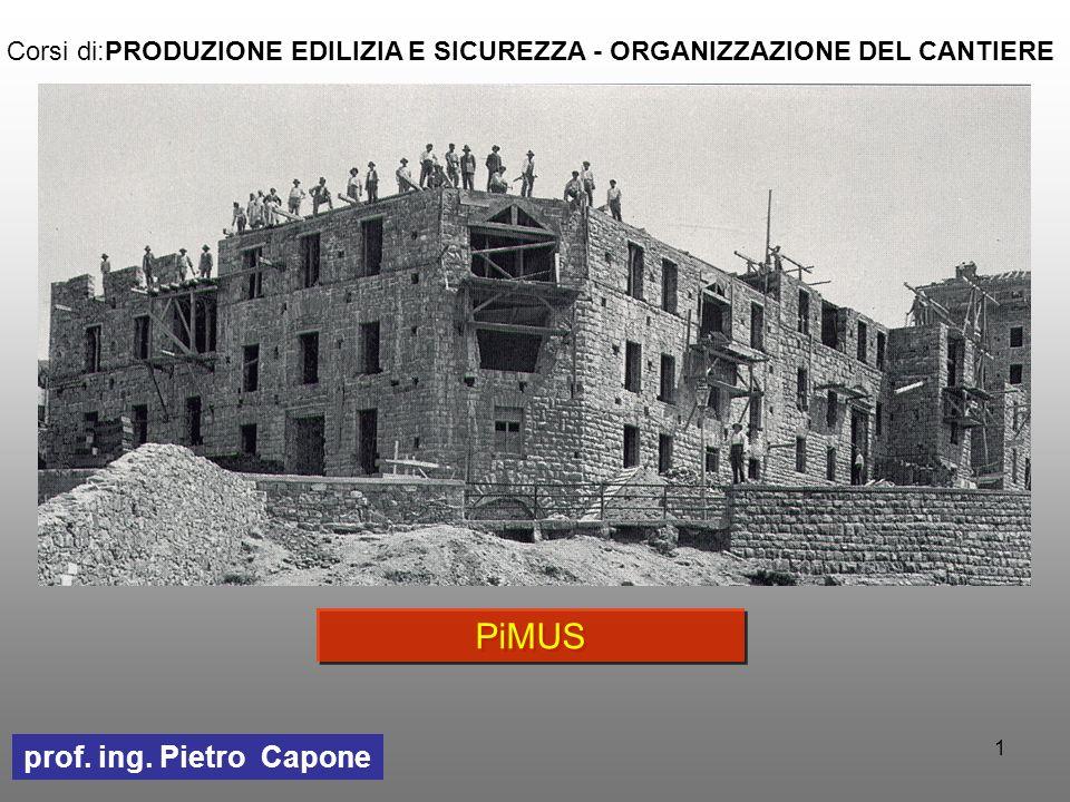 PiMUS prof. ing. Pietro Capone