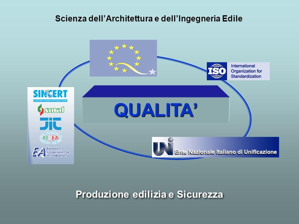 QUALITA' Produzione edilizia e Sicurezza