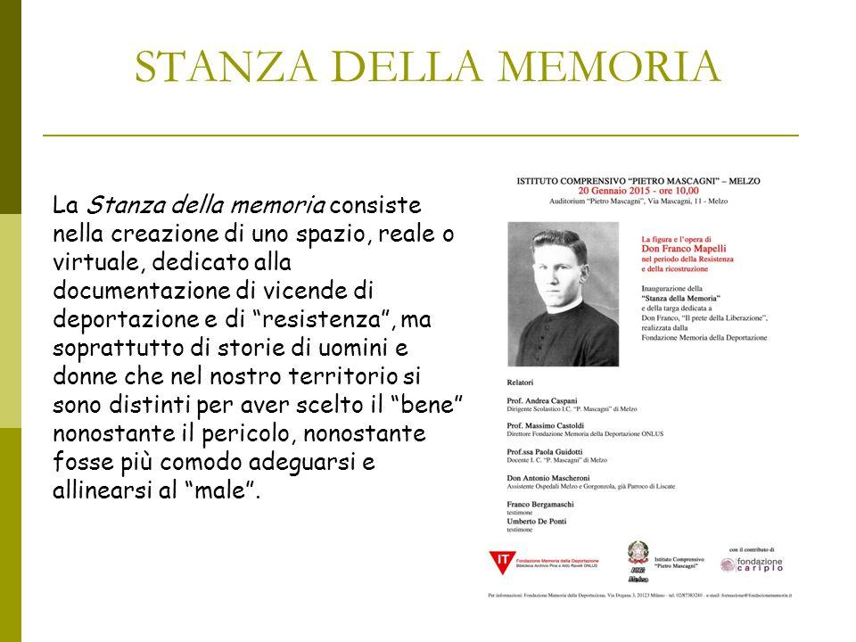 STANZA DELLA MEMORIA